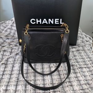 🆕 Chanel Black Leather Caviar Bag 👜